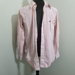 Southern Marsh Check Button Up SZ S
